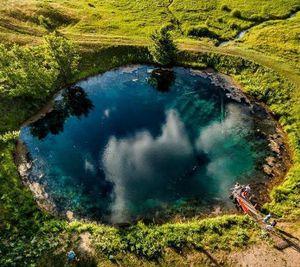 Голубое озеро Уфа