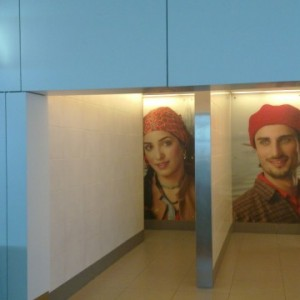 Туалеты в аэропорту Индиры Ганди