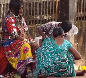 Индия. День 32. В поисках базара по окрестностям Анджуны