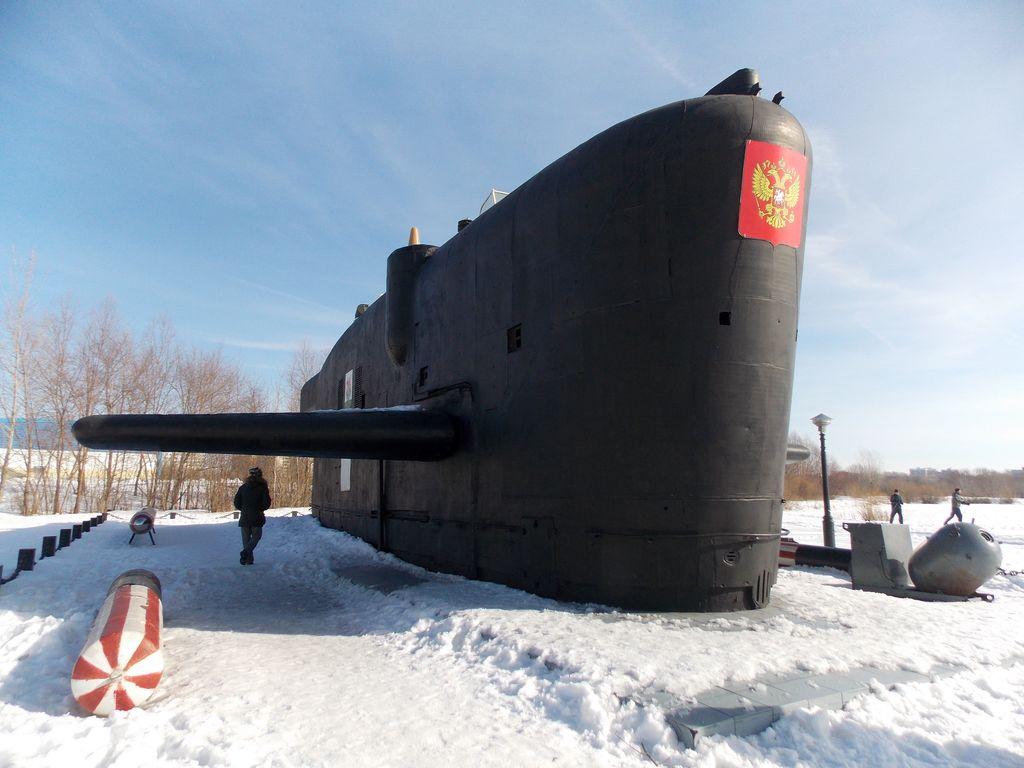 """Подлодка """"Казань"""" Парк  Победы"""