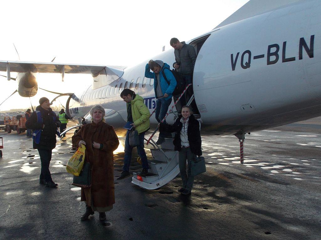 Самолет Казань - Уфа