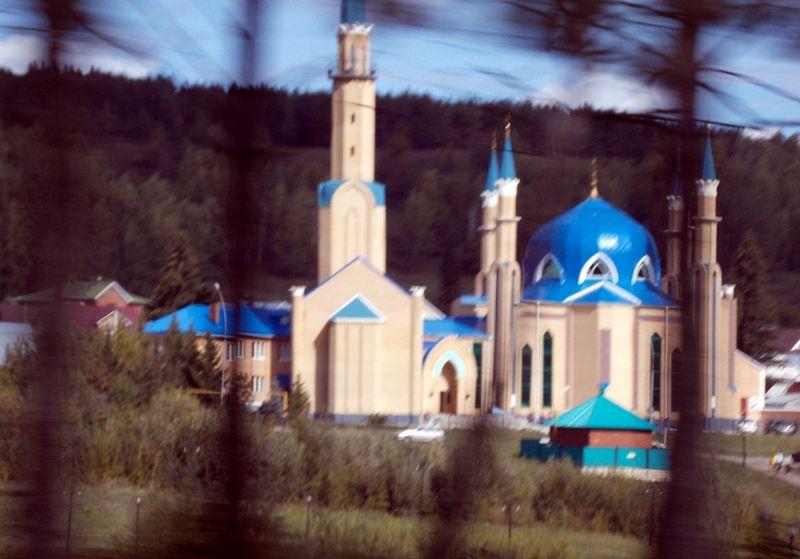 Мечеть в городе Лениногорск