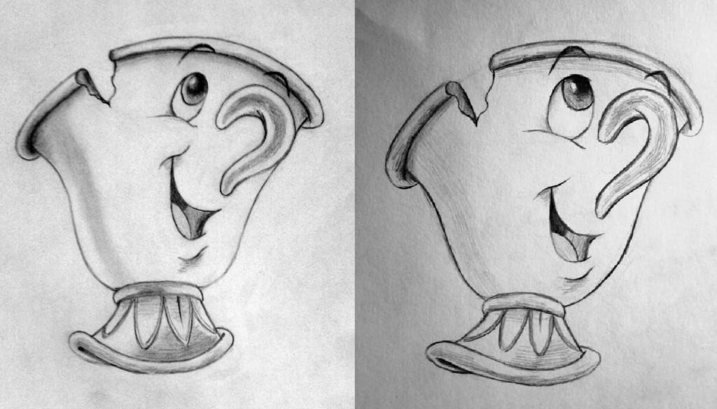 Кружка - рисунок