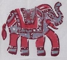 Индия. День 2. Крепость Джейпура, красильня